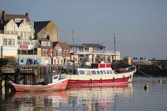 Bridlington Harbour, East Yorkshire - twice a year EVERY year!!