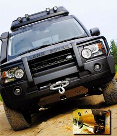 Underbody protection for this Discovery 4 Extreme is supplied by TerraFirma 8mm alloy front steering and transmission guards. Land Rover 2014, Land Rover Off Road, Land Rover Defender, Land Rover Discovery Off Road, Land Rover Models, Adventure Car, Offroader, Classic Car Insurance, Buggy