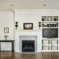 offset fireplace and tv - Google Search   Fireplace   Pinterest ...