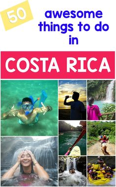 Looking for awesome things to do in Costa Rica for your trip? Here is our list of 50 fun things to do for every traveler: http://mytanfeet.com/activities/50-activities-things-to-do-in-costa-rica/