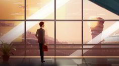 With a graphic style and a cinematic approach, we are telling the story about Safegate Group, a global company that wants to solve future challenges of air traffic expansion at airports. Sit back, relax, and enjoy the flight.    Client: Safegate Group  Concept & direction: Upper First  Production: Upper First  Lead animator: Thiago Steka  Illustrations by Eric Pautz, characters by Mariana Ikuta  Sound fx: Ljudateljén  Year: 2015