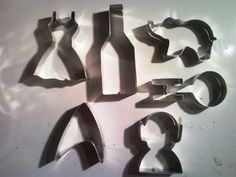 DIY cookie cutters- SO many ideas for this! Love the Star Trek ones. Think I'd do Doctor Who, too.