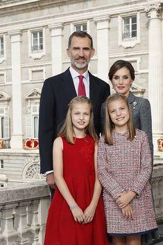 Spanish Royal 2017 Christmas card