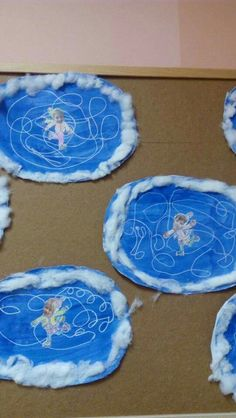 Papír korcsolyapálya - Debra's Home Winter Art Projects, Winter Project, Winter Crafts For Kids, Winter Kids, Winter Sports, Art For Kids, Daycare Crafts, Toddler Crafts, Kindergarten Art