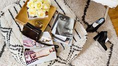 Fashion Toast's Rumi Neely Invites Us Into Her Hip LA Home via @domainehome