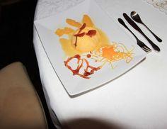 Orangencreme mit marinierten Orangenfilet
