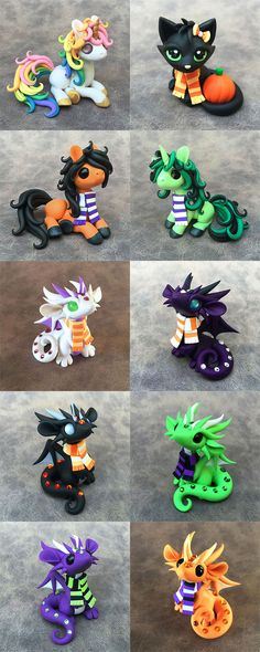Scarf Critters Sale by DragonsAndBeasties on DeviantArt