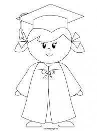 Resultado de imagen de dibujos birrete y diploma de graduación c1ecb81820e9