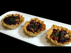 Cocinar para los amigos: Tartaletas de hongos