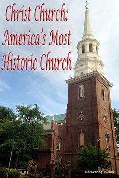 Philadelphia's Christ Church was where America's Founding Fathers like George Washington and Benjamin Franklin worshipped. Today, it's an amazing place to visit in Philly's Old City: http://uncoveringpa.com/visiting-christ-church