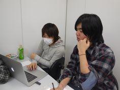 キャラクターデザイン&ゲームプログラムの実行委員です
