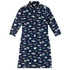 Swans Shirt Dress | Dresses | CathKidston