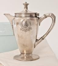 ❥ Grand Hotel Teapot. I love Hotel Silver.