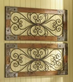 Wood Metal Wall Decor - Foter