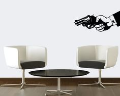 Wall Vinyl Decal Sticker Art Design Hand with Gun Revolver Room Nice Picture Decor Hall Wall Chu865 Thumbs up decals http://www.amazon.com/dp/B00JBYFUG0/ref=cm_sw_r_pi_dp_DZ71tb1TT1SQTGKH