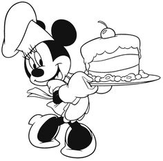 Mickey-Mouse-Birthday-Coloring-Pages.gif 700×697 pixels