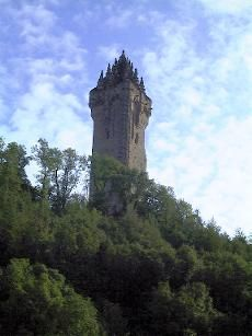 The Wallace Monument is situated on the top of Abbey Craig, overlooking the river Forth and the Forth Valley. Only Stirling Castle, a few miles away across the river Forth, makes a bigger impression on the area. Abbey Craig at one time was the site of a hill fort and in 1297 William Wallace camped there before defeating the English attempting to cross the Forth at the Battle of Stirling Bridge