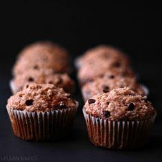 Chocolate Chip Streusel Pumpkin Muffins | URBAN BAKES