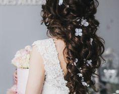 Blush boda cristal cabello vid 045 a 15 metro novia Blush