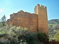 Molinicos -Castillo de Las Huertas (cerca de Molinicos), fechado en el siglo XII.