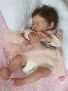 Reborn Baby Doll SERENITY by Laura Lee Eagles - adopted:)