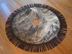 Western Christmas Tree Skirt 2 Western Leather Accessories