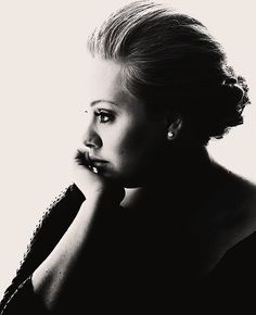 Adele so beautiful because she is a true woman and has the scars to prove it. Love how comfortable she is in her own skin.