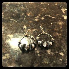 handmade beaded earrings handmade black and white beaded earrings Jewelry Earrings