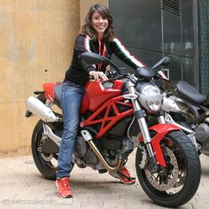 Ducati Monster 696 , too bad its so small as you can see