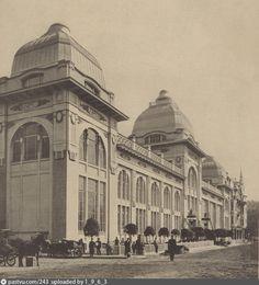 """Новое здание ресторана """"Яр"""" в Петровском парке (1911-1912)"""