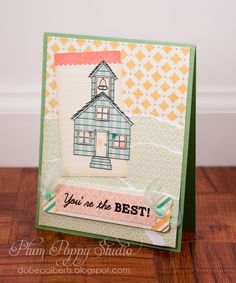 Plum Poppy Studio: Peachy Sneak Peek Time!