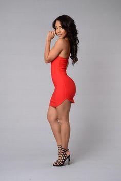 Cassandra Dress - Red