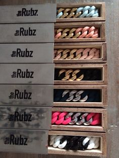 Just some colors, love these bracelets  #theRubz