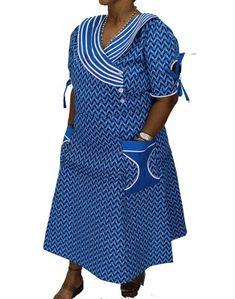 makoti shweshwe traditional dresses - style you 7 African Dresses For Women, African Attire, African Wear, African Fashion Dresses, African Women, African Outfits, African Clothes, Sotho Traditional Dresses, African Traditional Wear