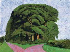 David Hockney - Bigger Trees Nearer Warter (Summer 2008)
