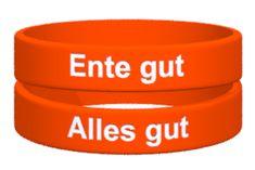 Dein Ente gut alle gut-Armband jetzt bestellen auf ownband.de #ownband #Armband #DiY #pinoftheday