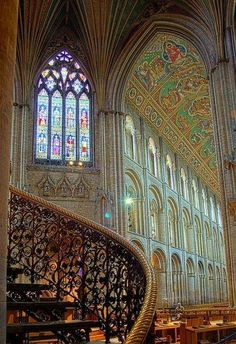Ely cathedral, Cambridgeshire, Angleterre.