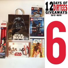 On the sixth day of 12 Days of Dirtees Giveaways I'm raffling off this Star Wars goodiebag. It contains a comic Lightsaber magazine and 2 LEGO sets: 30278 and the exclusive 40176.  Want a chance to win? Follow us and and tag your Star Wars besties in the comments.  You can participate on Instagram and Facebook. -Melvin #Starwars #Lego #thelastjedi #starwarslego #legominifigures #starwarsnerd #starwarsart #starwarsfan #starwarsnews #starwarsthelastjedi #starwarsgeek