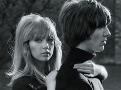 George and Patti  Rare images of The Beatles