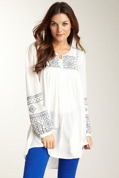 bohemian style for women over 40 | Found on hautelook.com