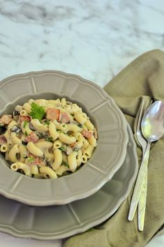 Romanian Food, Pasta Recipes, Pasta Salad, Healthy Recipes, Cooking, Breakfast, Ethnic Recipes, Diet, Kitchens