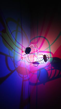 Closeup of the CMYK Corner Light - Design by Dennis Parren - Maisonobjet, September 2013 Corner Lighting, Light Design, September 2013, Light Installation, Light Art, Light Colors, Lamps, Neon Signs, Colour