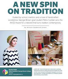 Hot off the press Magazine Art, Petra, Winter Hats, Crochet Hats, Profile, Student, Hot, Fashion, Knitting Hats