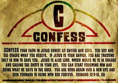 Confess - ABCs of Becoming a Christian Journey Off the Map