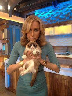 Grumpy Cat on GMA