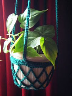 Pot Hanger: free pattern