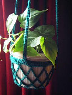 Pot Hanger: free pattern