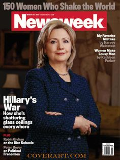 Hillary Clinton on cover of new newsweek cover design
