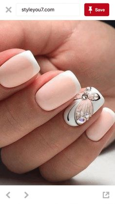 Fancy Nail Art, Fancy Nails, Trendy Nails, Cute Nail Art Designs, Acrylic Nail Designs, Acrylic Nails, Nail Manicure, Gel Nails, Nail Deco