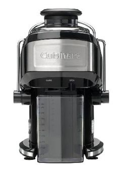 Cuisinart CJE500U Compact Power Juicer The full size-juicer thats been squeezed itself! With the Cuisinart CJE500U Compact Power Juicer you can create fresh, nutritious fruit and vegetable juices at home with the Cuisinart Compact Power Ju http://www.Migh